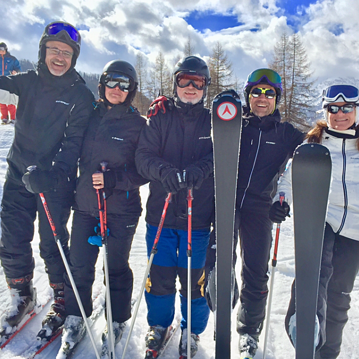 skidorter italien nära turin